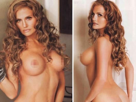 Extremo de cerca desnudos