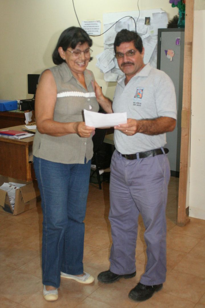 El intendente otazo encabezo una nueva entrega de for Cementerio jardin de paz pilar